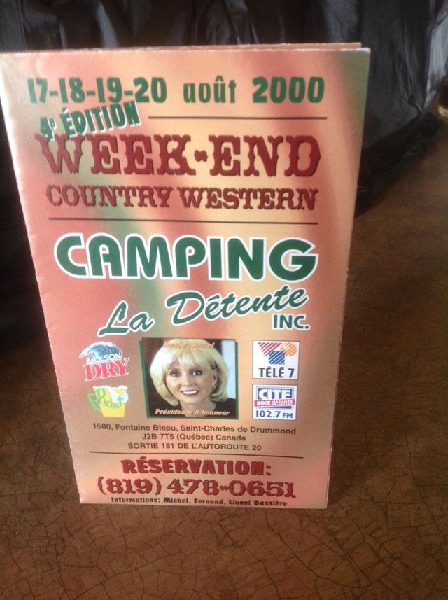 Week-end Country Western 2000