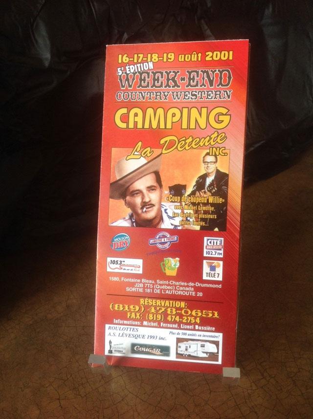 Week-end Country Western 2001