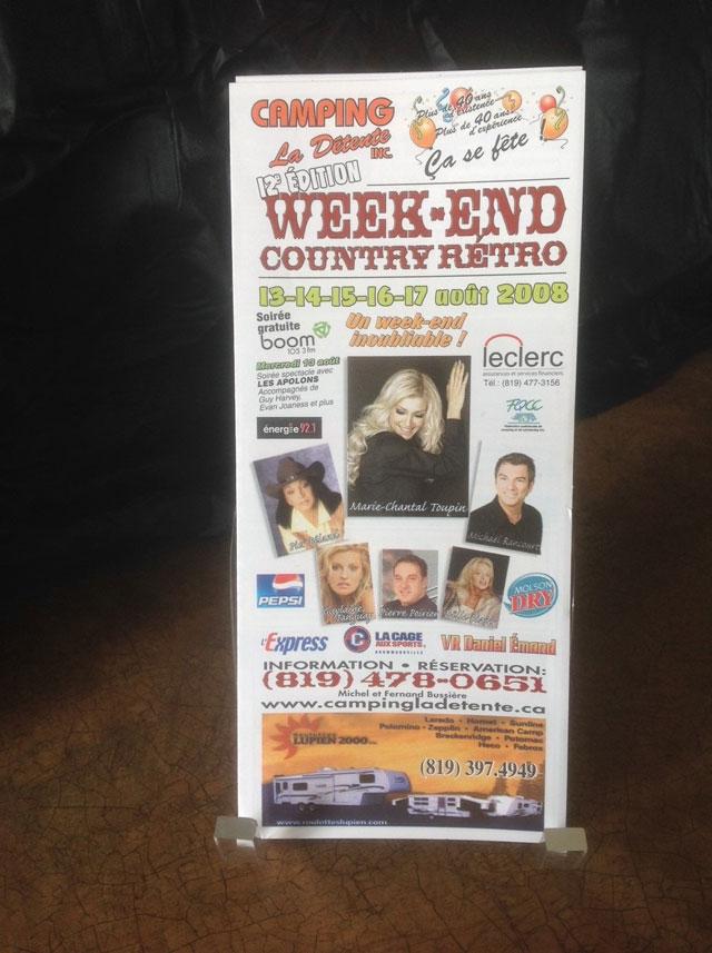 Week-end Country Rétro 2008