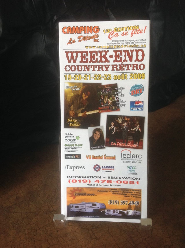 Week-end Country Rétro 2009
