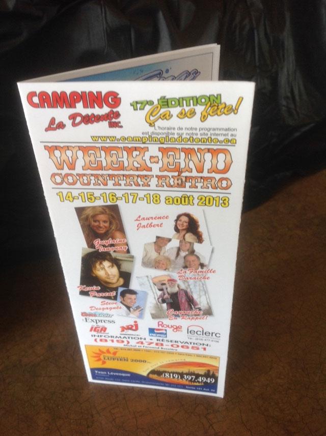 Week-end Country Rétro 2013
