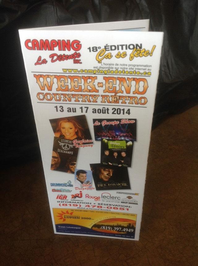 Week-end Country Rétro 2014