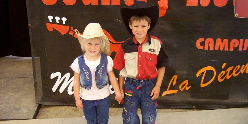 Enfants Week-end Country Rétro