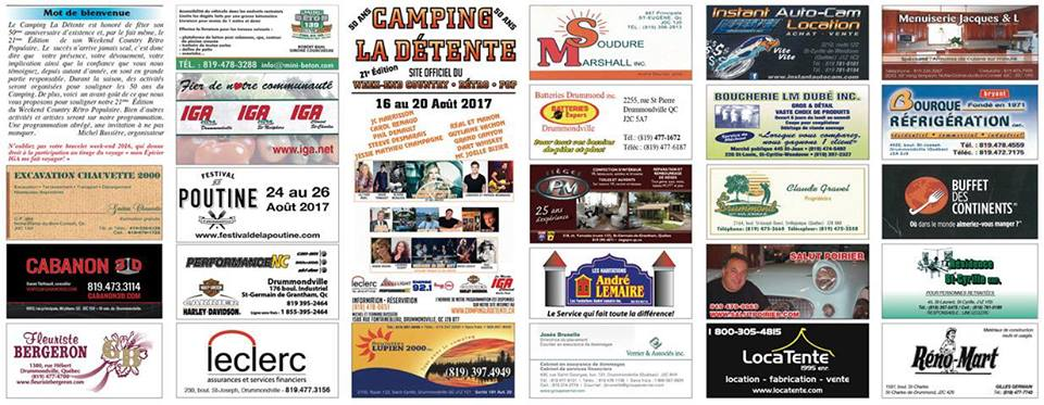 Festival Week-end Country Rétro 2016 - Programmation 1
